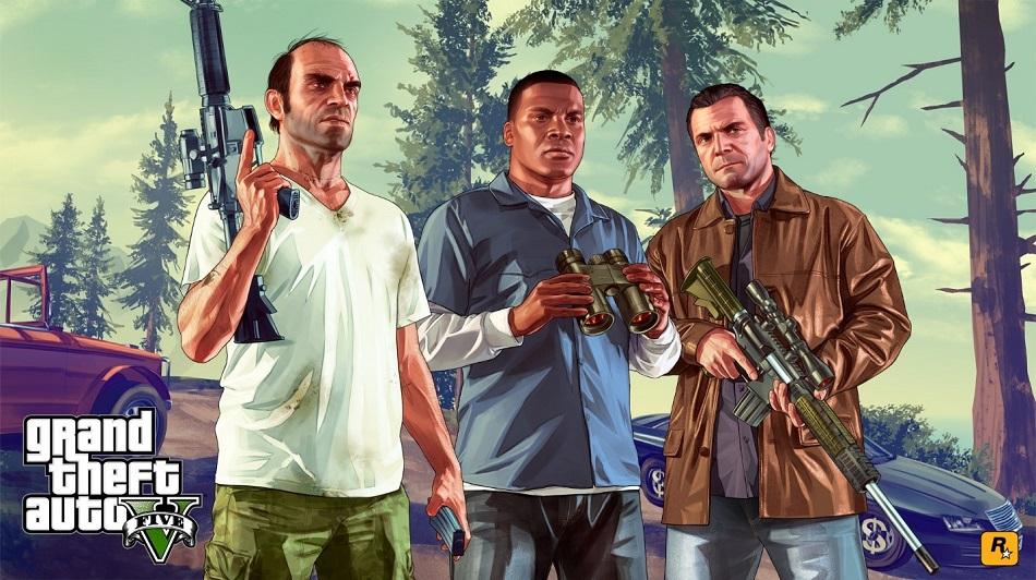دانلود ترینر بازی Grand Theft Auto V از Fling