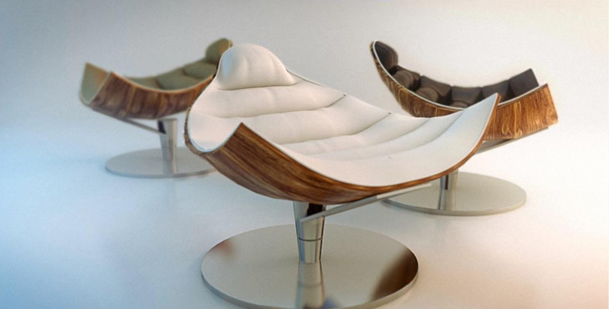 دانلود آموزش 3DS Max Modern Chair Modelling