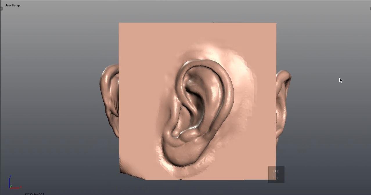 دانلود آموزش Sculpting A Human Ear In Blender-CGCookie - حجاری گوش انسان