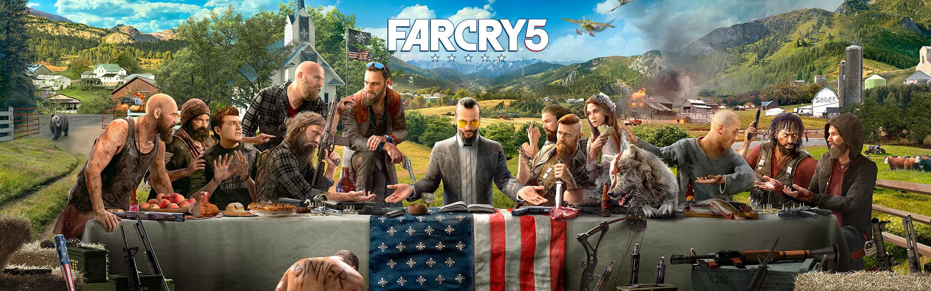 دانلود بکاپ یوپلی بازی Far Cry 5